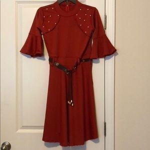 Dresses & Skirts - Flame Pearl Dress